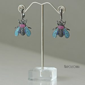 фото серьги пчелки серьги фото