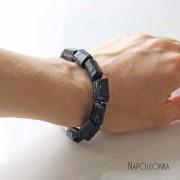 фото черный турмалин шерл серебро